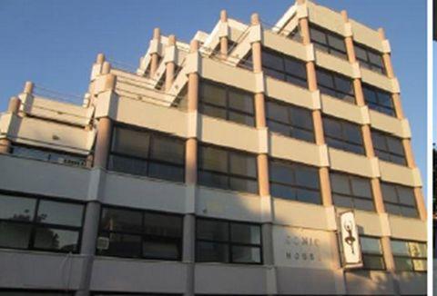 A building is for sale on Artemidos Avenue, Larnaca  The building comprises of: Basement - parking 470sq.m Shop No.1 - 318 sq.m + 95 sq.m mezzanine Shop No.2- 97sq.m + 78sq.m mezzanine 1st floor - office - 334 sq.m + verandas uncovered 46 sq.m ...