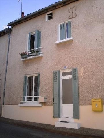 House On the ground floor there is a living room with fireplace (25 sq m)and corner kitchen, bathroom (5 sq m), WC and cellar (6 sq m). The first floor has two bedrooms (25 and 12 sq m) and a loft space above (35 sq m approx.) with room for two furt...