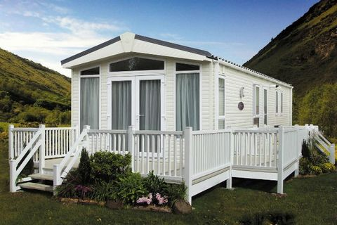Pembertonlh Abingdon 2018 mobile holiday home / leisure home - 36ft x 12ft (2 bedrooms) floorplan The Abingdon remains the epitome of country classic chic with a cool, crisp colour scheme and a choice of three ever-popular layouts. The lounge upholst...
