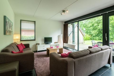 In the Frisian village of Balk you will find this modern and comfortably furnished holiday home. The apartment is located on a small park with a total of 18 houses. The homes lie directly on the Slotermeer, 50 metres walk from a sandy beach with sunb...