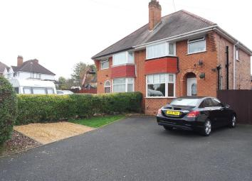 Superbly presented three bedroom semi-detached home in a popular location of Solihull, with good access to the A45, Birmingham international Airport and Solihull Town Centre. The property comprises, storm porch, hallway, lounge, kitchen/diner, three ...