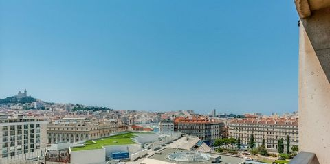 MARSEILLE BELSUNCE, Appartement T4 4 Room (s) 88 m², 9th Floor, 2 Bedrooms, Fitted kitchen