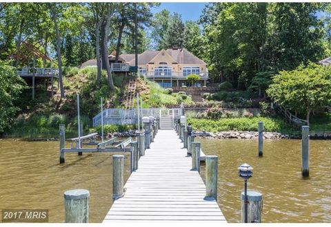 Hidden waterfront gem in Southdown Shores with panoramic views of Beards Creek from every room! Exceptional construction with gracious open floor plan and well appointed details throughout make it a perfect home to entertain guests or just relax with...