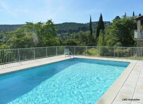 Nicole Manya, votre conseillère LMD Immobilier, à votre écoute au ... , vous propose à Aubenas proche du centre ville une grande villa , d'environ 221 m2 habitables, dotée d'un très joli point de vue, très bien équipée, sur un terrain de 2700 m2 avec...