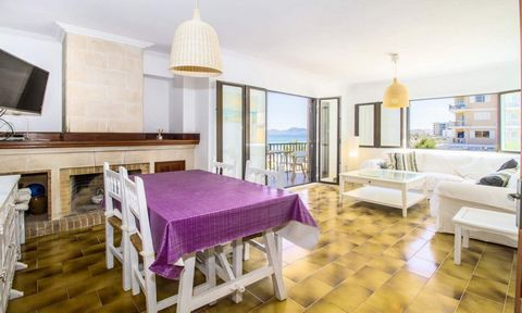 The apartment in Ca´n Picafort has 3 bedrooms and has capacity for 5 people. The apartment is nicely furnished, is newly constructed, and has 90 m². It is located right next to the beach. It has views to the sea. It is located 0,03 km from the sand b...