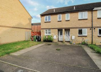 Offered for sale with NO FORWARD CHAIN is this TWO BEDROOM End-Terrace property situated in a popular location within close proximity to local amenities, transport links and Peterborough City Centre. Accommodation comprises: Entrance hall, kitchen, l...