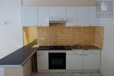 - Agréable T2 lumineux au centre-ville de Réalmont de 48 m2 comprenant une pièce de vie avec cuisine US, une salle d'eau, wc séparé et une chambre. Chauffage électrique. Loyer 375 euros + 20 euros de charges (comprenant l'eau). Dépôt de Garantie : 37...