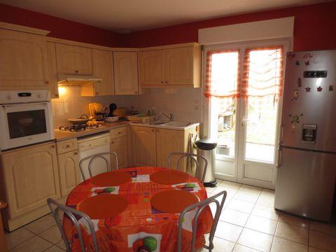 maison T6 - 118m2 - 4 chambres - garage -