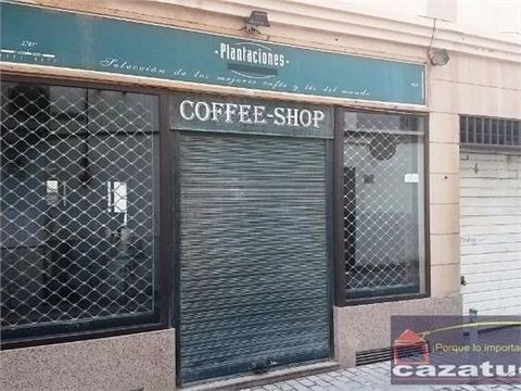 COMMERCIAL PLACE IN ARRECIFE CENTROCommercial place of 134m2 with parking space located in the center next to the most leisure area of ??the city, has entrance by two different streets, prepared for cafeteria.