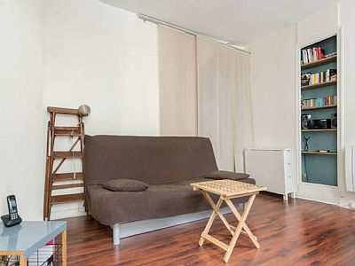 Welcome, Bienvenue, A beautiful studio in the center of Paris, in the heart of a popular, vibrant area. The perfect place to enjoy the French capital.
