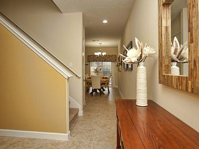 SOUTH FACING POOL, NEXT TO CLUBHOUSE!! Property Type 4 Bedrooms / 3 Bath Townhome with Private Pool Floor Area 1800 sq. ft.