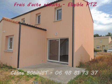 ST HILAIRE DE LOULAY Centre ville, House 3 Room (s) 71 m², Land 233 m², 2 Bedrooms