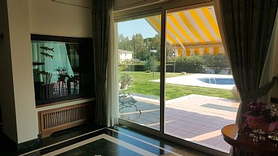 Beautiful villa in Rome, inside the ring road in a quiet and peaceful area of ​​villas.