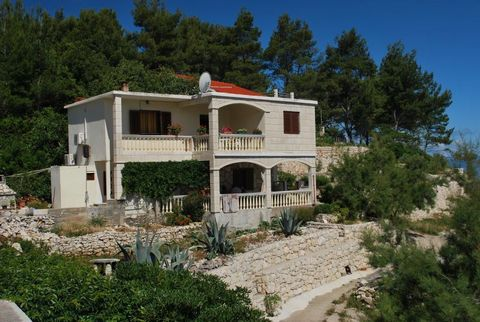The accomodation is on the island of Korčula, in a quiet location, directly on the beach. Here, one can enjoy the view on the sea and take a dip in the crystal clear water only 10 meters away. The appartment is comfortable and the calm area will prov...