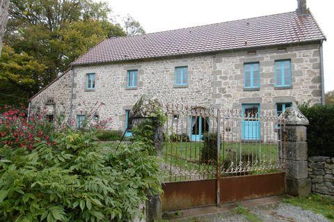 Maison creusoise en pierre de pays, rénovation et
