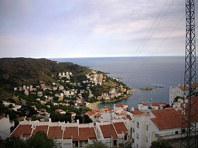 Roses - Puig Rom: Holiday apartment with terrace and sea view.