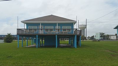 Jamaica Retreat is located in the highly desired neighborhood of Jamaica Beach at 16518 Jamaica Beach Rd. 2nd row from the beach with awesome views, large deck to enjoy the breeze and spacious open concept perfect for your family gathering.