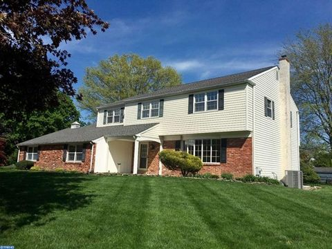 Wonderful and updated 5 Bedroom, 3 Bath brick front Colonial in Buckland Valley Farms. This well maintained Home with 3,234 sq. ft. is move in ready and full of lovely details. The charm begins with the Pennsylvania blue slate entry floor and continu...