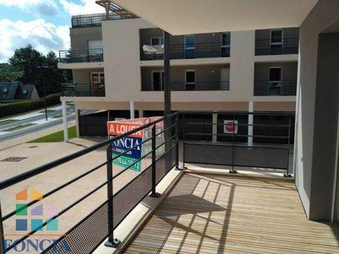 Venez découvrir lors de nos PORTES OUVERTES LES 22 ET 23 SEPTEMBRE ce T3 de construction neuve, normes BBC balcon terrasse, parking, cave