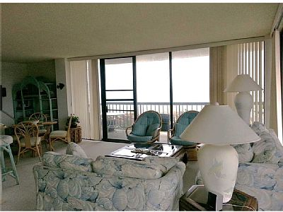 Ocean Front! Nice large end unit with wrap around deck and great views. Enjoy a relaxing vacation in this very nice 3 bedroom, 2 bath ocean front condo. One level living with a GREAT ocean front balcony.