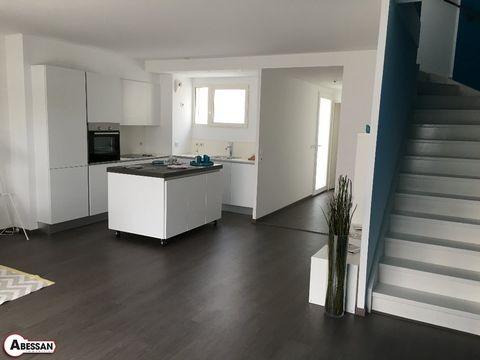 Hérault(34) A vendre, à Baillargues, une villa moderne de 85m² sur deux niveaux , à cinq minutes de l'autoroute.