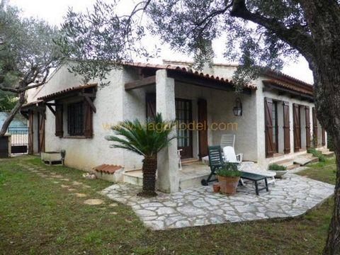 maison / villa 5 pièces Viager occupé La Colle-sur-Loup (06480)