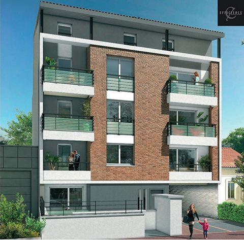 A vendre studio 33m2 et balcon dans Programme neuf Toulouse 31400, quartier des facultés, éligible pinel.