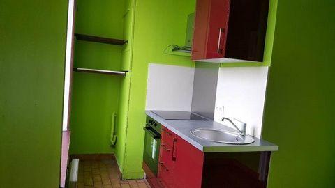 A louer, F2 de 51 m² au 1er étageRoute nationale à DOUZYDISPONIBLE DE SUITEPetite entrée, séjour, cuisine équipée, une chambre, salle de bain, toilettesChauffage électrique