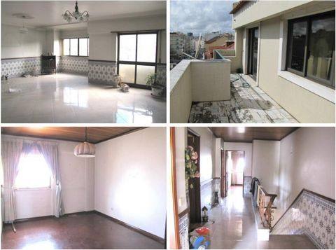 T5 apartment (with 2 suites, 3 rooms), duplex with 195 m2, garage/box for 2 cars, arrecadção, balcony/terrace, 10 m2, with elevator, on 4th floor of building built in 1994, in need of some modernisation. located central area of Lisbon, rua Morais Soa...