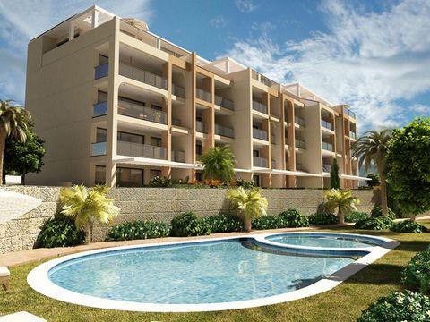 Residencial de apartamentos ubicado en 1ª línea de playa de Villajoyosa (Costa Blanca). Las viviendas disponen de 2 y 3 dormitorios, aire acondicionado, electrodomésticos, armarios empotrados, parking y un gran entorno de zonas ajardinadas con piscin...