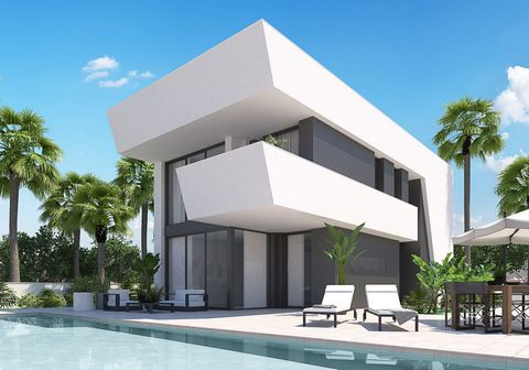 Located in Alicante. New project with 10 exclusive villas, this model consists of 4 bedrooms, 3 bathrooms, plot of 290m2, housing 270 m2 built, solarium of 86m2, private pool (8x5), private garden, Includes appliances, A / C, Radiant in bathrooms, au...