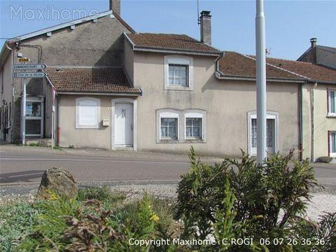 Goncourt (52150), maison de village