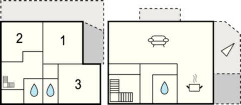 A quelques minutes du centre de Calvi et de sa citadelle, cette charmante maison est jumelée avec FK0121. Ses grandes baies vitrées laissent entrer la lumière et donnent à l'intérieur une ambiance claire et très agréable. Laissez-vous envoûter par la...