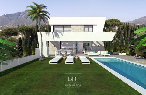 Superb modern villa project located in the lower part of the Cala de Mijas close to all kinds of services, the beach, sports center, supermarkets and the village. At this stage both the interior and exterior design and layout are open to modification...