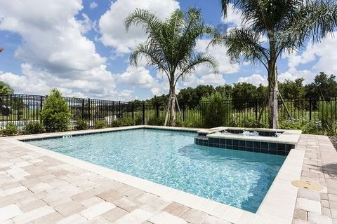 """""""Picture you and your family renting this beautiful 5 bedroom villa for the perfect Disney holiday. This villa has a games room and private pool. Only 6 miles from Disney"""