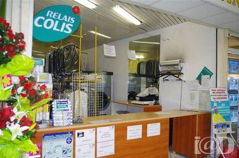I@D France - Jean-Paul RAVAUX ... vous propose : Pressing - Relais colis en centre commercial. Bonne rentabilité, chiffre d'affaire en constante évolution, emplacement à fort trafic commercial avec un loyer modéré. Le prix comprend le fonds de client...