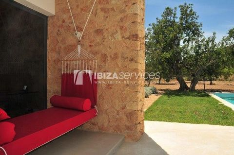 """Located at five kilometres from Ibiza in the countryside in a pleasant are, near the nightclub """"Amnesia"""" but without any sound, Main house : The house was decorated by Patricia Urquiola (Voted Best Architect of the Year by Wallpaper magazine) she ma..."""