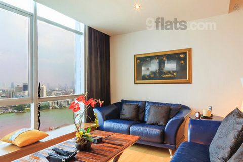 The apartment is located on the 16th floor of Baan Sathorn Chaophraya overlooking the river and sun rise in close vicinity to restaurants & shopping. It has access by 2 Skytrain stations and boat. Full condo facilities and 24h security are available....