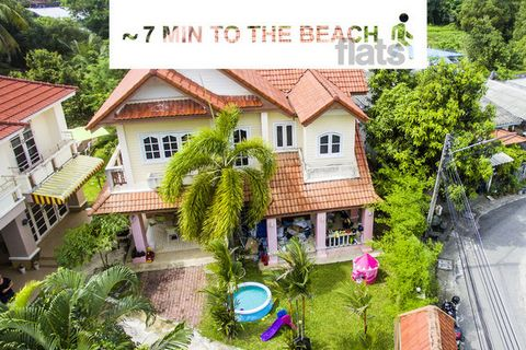Why is this a dream? Because only a 7-12 minute walk, and you are already enjoying one of the best beaches in Phuket - Bang Tao - with snow-white sand and a gentle entrance to the sea. Paradise, as in the photo, a beach line with many restaurants, ma...