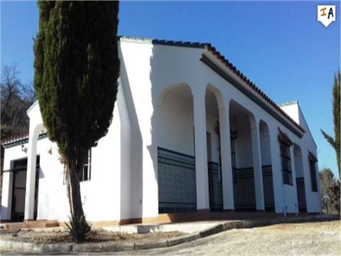 This stunning villa is located on the outskirts of the bustling town of Cuevas San Marcos close to all the local amenities, shops, bars , restaurants and municipal swimming pool and only a short drive from the beautiful lake iznajar. The villa is lay...