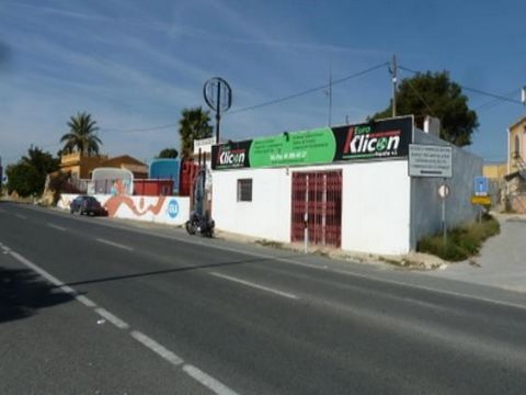 Commercial property consisting of several spaces on a plot of 994M2 and a total of 200M2 build.Located on the N332 between Albir and Altea.In a good state of maintenance.