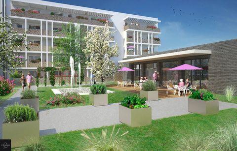 A vendre appartement sénior T3 3 pièces 2 chambres dans Programme neuf Bassens 73000, éligible pinel.