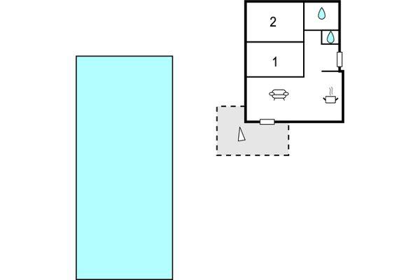 Le Domaine Only Roc est une résidence moderne sécurisé qui abrite ce bel appartement de vacances de haut standing. Vous serez au 2ème étage avec ascenseur et proche de la grande piscine. L'intérieur est confortable et superbement agencé, avec sa cuis...