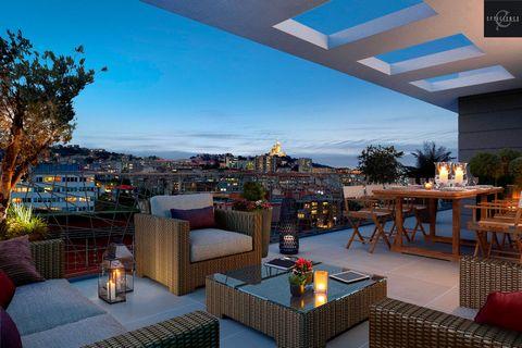 A vendre Programme neuf Marseille 13008, proche des plages du Prado, éligible pinel.
