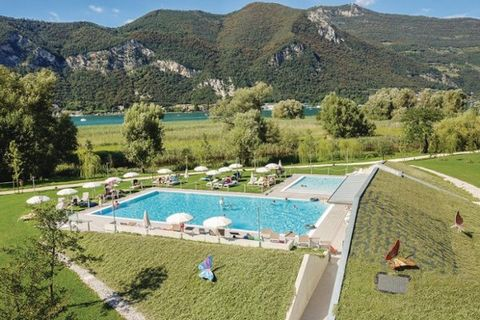 Holiday apartments in Clusane d'Iseo, in a lakeside resort which was built in harmony with the surrounding nature and with the least environmental and visual impact. Ideal accommodation for families with children, thanks to the extensive outdoor spac...