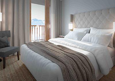 Située dans la station d'Arc 1800 en Savoie, l'appart'hôtel Eden domine la Vallée de la Tarentaise. Offrez-vous une location vacances en montagne skis aux pieds sous le signe du bien-être grâce à ses équipements de standing (Résidence Edenarc) : bull...