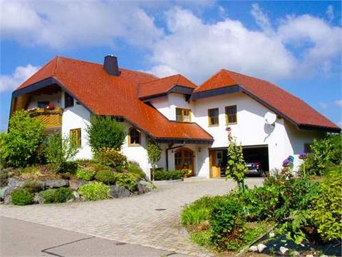 This private house is free-standing and of an attractive size. Photovoltaic system    Wutach is about 38 kilometres from Villingen-Schwenningen and can be reached within 37 minutes by car. The town has all of the shops you need for day-to-day need...