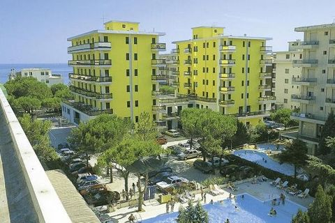 Offered at your holiday residence 2 buildings, 70 residential units. elevator. Product description: simply, but comfortably furnished. kitchenette. 2 or 4 gas burners, refrigerator, eating nook. shower, bidet, toilet. satellite TV, some with wireless...