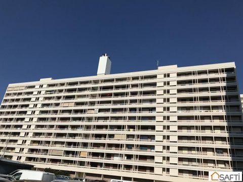 Villeurbanne quartier Perralière. IDEAL INVESTISSEUR OU FAMILLE NOMBREUSE. Grand appartement T6 de 110m² environ avec balcon filant sur toutes les pièces de 27m² environ au 10ème étage sur 11. Il comprend un séjour double, avec cuisine nue indépendan...