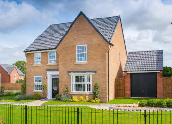 This stylish FOUR BEDROOM HOME has a modern kitchen with integrated dining and family areas and French doors to the garden. There is an adjoining UTILITY ROOM, STUDY AND SPACIOUS LOUNGE with bay window which is a perfect place to relax. Upstairs is a...